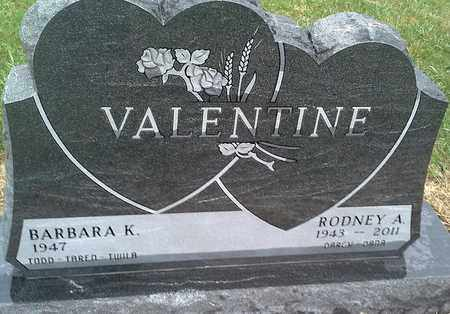 VALENTINE, BARBARA K - Clark County, South Dakota | BARBARA K VALENTINE - South Dakota Gravestone Photos