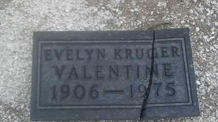 VALENTINE, EVELYN - Clark County, South Dakota   EVELYN VALENTINE - South Dakota Gravestone Photos