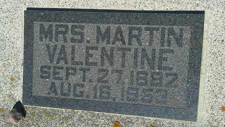 VALENTINE, HANNAH - Clark County, South Dakota | HANNAH VALENTINE - South Dakota Gravestone Photos