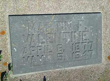 VALENTINE, MARTIN F - Clark County, South Dakota | MARTIN F VALENTINE - South Dakota Gravestone Photos