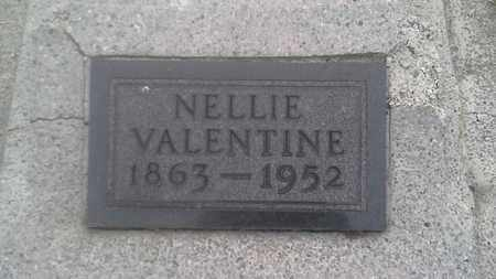 VALENTINE, NELLIE - Clark County, South Dakota   NELLIE VALENTINE - South Dakota Gravestone Photos