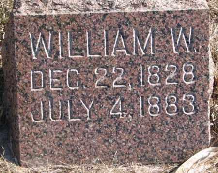 ADAMS, WILLIAM W. - Clay County, South Dakota | WILLIAM W. ADAMS - South Dakota Gravestone Photos