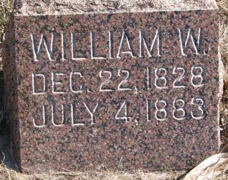 ADAMS, WILLIAM W. - Clay County, South Dakota | WILLIAM W. ADAMS - South Dakota Gravestone Photos