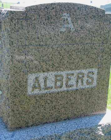 ALBERS, FAMILY STONE - Clay County, South Dakota | FAMILY STONE ALBERS - South Dakota Gravestone Photos