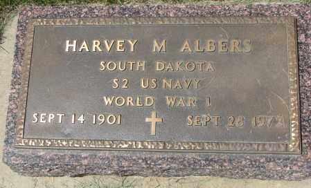 ALBERS, HARVEY M. (WW I) - Clay County, South Dakota | HARVEY M. (WW I) ALBERS - South Dakota Gravestone Photos