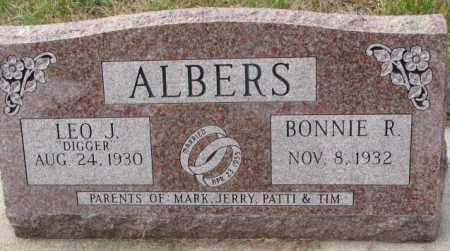 ALBERS, BONNIE R. - Clay County, South Dakota | BONNIE R. ALBERS - South Dakota Gravestone Photos
