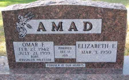AMAD, ELIZABETH E. - Clay County, South Dakota   ELIZABETH E. AMAD - South Dakota Gravestone Photos
