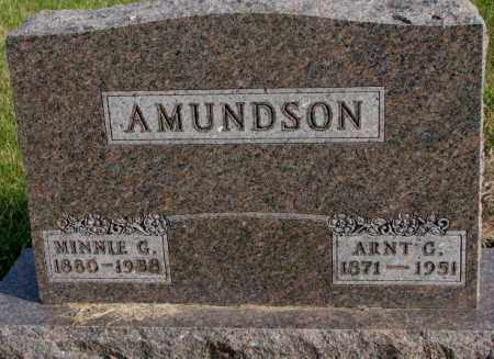 AMUNDSON, ARNT G. - Clay County, South Dakota | ARNT G. AMUNDSON - South Dakota Gravestone Photos