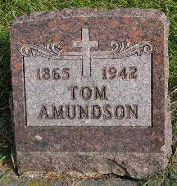 AMUNDSON, TOM - Clay County, South Dakota   TOM AMUNDSON - South Dakota Gravestone Photos