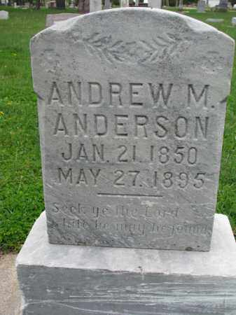 ANDERSON, ANDREW M. - Clay County, South Dakota | ANDREW M. ANDERSON - South Dakota Gravestone Photos