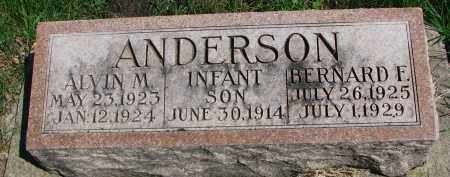 ANDERSON, INFANT SON - Clay County, South Dakota | INFANT SON ANDERSON - South Dakota Gravestone Photos
