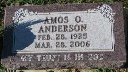 ANDERSON, AMOS O. - Clay County, South Dakota | AMOS O. ANDERSON - South Dakota Gravestone Photos