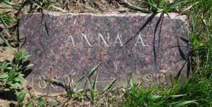 ANDERSON, ANNA A. - Clay County, South Dakota | ANNA A. ANDERSON - South Dakota Gravestone Photos