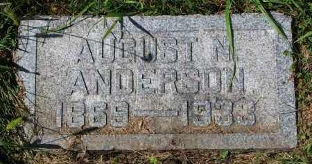 ANDERSON, AUGUST N. - Clay County, South Dakota | AUGUST N. ANDERSON - South Dakota Gravestone Photos