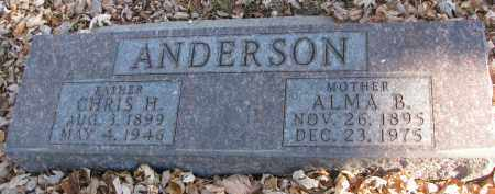 ANDERSON, ALMA B. - Clay County, South Dakota | ALMA B. ANDERSON - South Dakota Gravestone Photos