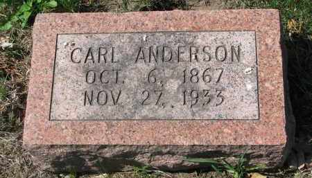 ANDERSON, CARL - Clay County, South Dakota | CARL ANDERSON - South Dakota Gravestone Photos