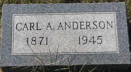 ANDERSON, CARL A. - Clay County, South Dakota   CARL A. ANDERSON - South Dakota Gravestone Photos
