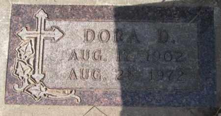 ANDERSON, DORA D. - Clay County, South Dakota   DORA D. ANDERSON - South Dakota Gravestone Photos