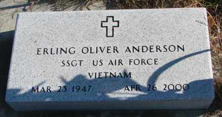ANDERSON, ERLING OLIVER - Clay County, South Dakota   ERLING OLIVER ANDERSON - South Dakota Gravestone Photos
