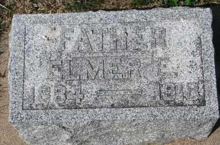 ANDERSON, ELMER E. - Clay County, South Dakota | ELMER E. ANDERSON - South Dakota Gravestone Photos