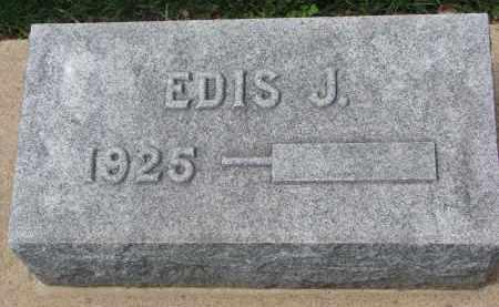ANDERSON, EDIS J. - Clay County, South Dakota   EDIS J. ANDERSON - South Dakota Gravestone Photos