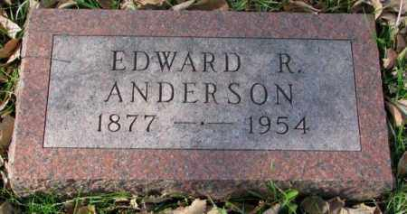 ANDERSON, EDWARD R. - Clay County, South Dakota | EDWARD R. ANDERSON - South Dakota Gravestone Photos
