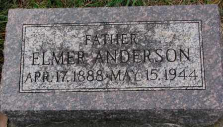 ANDERSON, ELMER - Clay County, South Dakota | ELMER ANDERSON - South Dakota Gravestone Photos