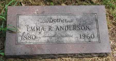 ANDERSON, EMMA R. - Clay County, South Dakota | EMMA R. ANDERSON - South Dakota Gravestone Photos