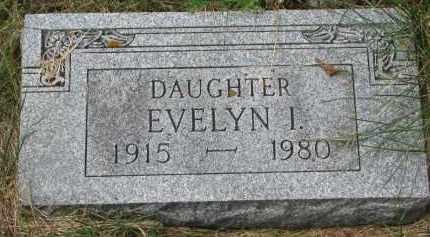 ANDERSON, EVELYN I. - Clay County, South Dakota | EVELYN I. ANDERSON - South Dakota Gravestone Photos