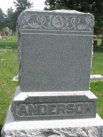 ANDERSON, FAMILY STONE - Clay County, South Dakota | FAMILY STONE ANDERSON - South Dakota Gravestone Photos