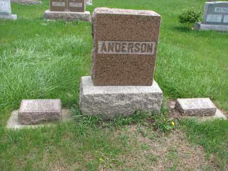 ANDERSON, FAMILY PLOT - Clay County, South Dakota | FAMILY PLOT ANDERSON - South Dakota Gravestone Photos