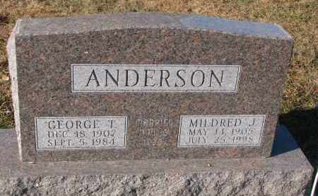 ANDERSON, GEORGE T. - Clay County, South Dakota | GEORGE T. ANDERSON - South Dakota Gravestone Photos