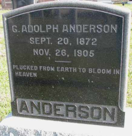 ANDERSON, G. ADOLPH - Clay County, South Dakota | G. ADOLPH ANDERSON - South Dakota Gravestone Photos