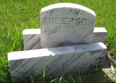 ANDERSON, GRANDMA - Clay County, South Dakota   GRANDMA ANDERSON - South Dakota Gravestone Photos