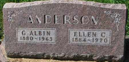 ANDERSON, ELLEN C. - Clay County, South Dakota | ELLEN C. ANDERSON - South Dakota Gravestone Photos