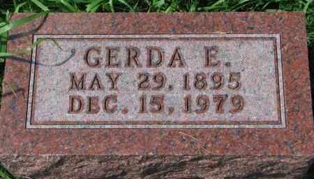 ANDERSON, GERDA E. - Clay County, South Dakota   GERDA E. ANDERSON - South Dakota Gravestone Photos