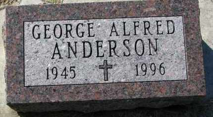 ANDERSON, GEORGE ALFRED - Clay County, South Dakota | GEORGE ALFRED ANDERSON - South Dakota Gravestone Photos