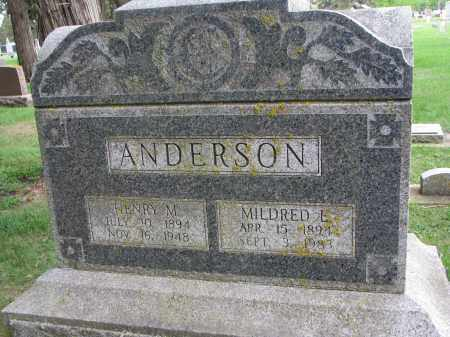 ANDERSON, HENRY M. - Clay County, South Dakota | HENRY M. ANDERSON - South Dakota Gravestone Photos