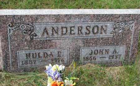 ANDERSON, JOHN A. - Clay County, South Dakota | JOHN A. ANDERSON - South Dakota Gravestone Photos
