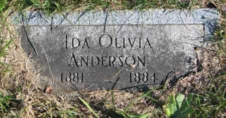 ANDERSON, IDA OLIVA - Clay County, South Dakota | IDA OLIVA ANDERSON - South Dakota Gravestone Photos