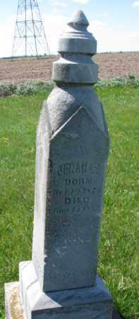 ANDERSON, JONAH E. - Clay County, South Dakota | JONAH E. ANDERSON - South Dakota Gravestone Photos