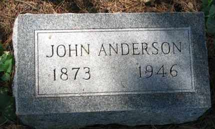 ANDERSON, JOHN - Clay County, South Dakota | JOHN ANDERSON - South Dakota Gravestone Photos