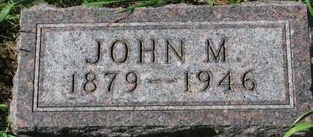 ANDERSON, JOHN M. - Clay County, South Dakota | JOHN M. ANDERSON - South Dakota Gravestone Photos