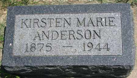 ANDERSON, KIRSTEN MARIE - Clay County, South Dakota   KIRSTEN MARIE ANDERSON - South Dakota Gravestone Photos