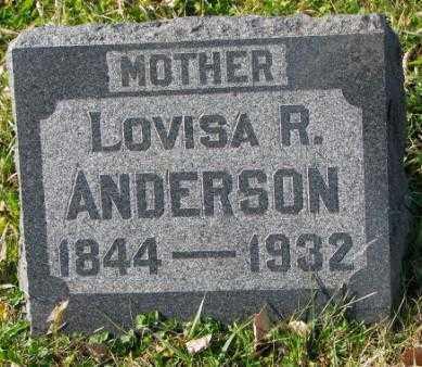 ANDERSON, LOVISA R. - Clay County, South Dakota | LOVISA R. ANDERSON - South Dakota Gravestone Photos