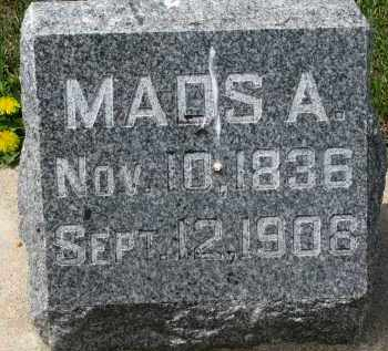 ANDERSON, MADS A. - Clay County, South Dakota | MADS A. ANDERSON - South Dakota Gravestone Photos