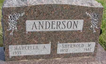ANDERSON, SHERNOLD M. - Clay County, South Dakota | SHERNOLD M. ANDERSON - South Dakota Gravestone Photos