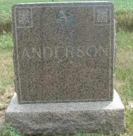 ANDERSON, OLE - Clay County, South Dakota   OLE ANDERSON - South Dakota Gravestone Photos
