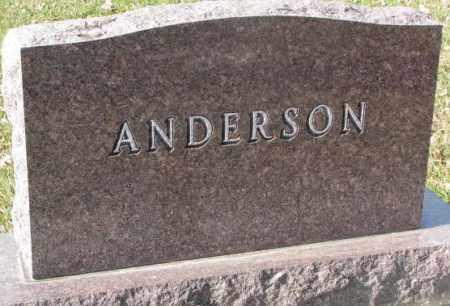 ANDERSON, PLOT - Clay County, South Dakota | PLOT ANDERSON - South Dakota Gravestone Photos