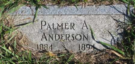 ANDERSON, PALMER A. - Clay County, South Dakota   PALMER A. ANDERSON - South Dakota Gravestone Photos